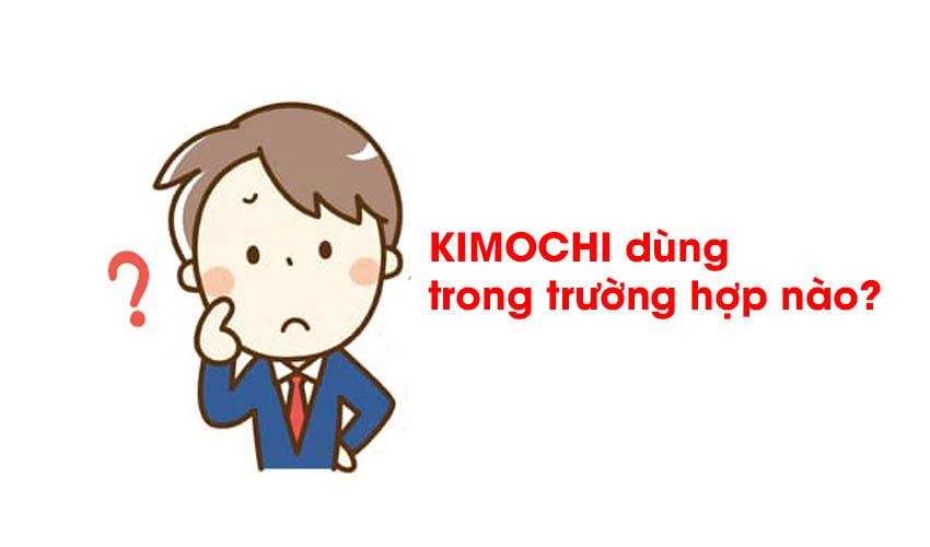 Kimochi dùng trong hoàn cảnh nào?