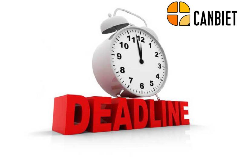 Bản chất deadline là gì?