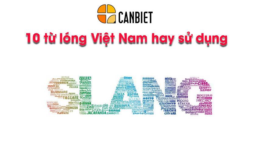 10 từ lóng Việt Nam hay sử dụng